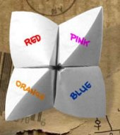 Image of a Cootie Catcher