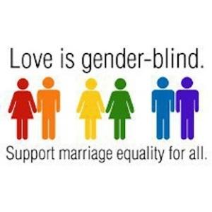 love is gender blind